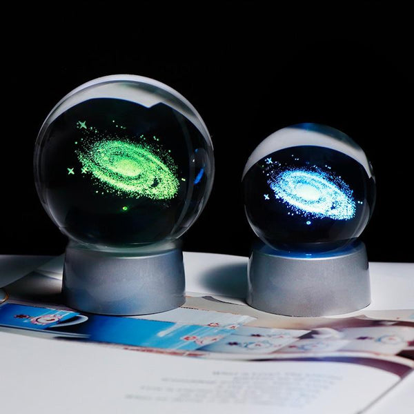 Galaxy Light-Changing Crystal Ball Spiritual Warriors Shop