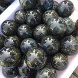 Mystics' Labradorite Touchstone Ball Spiritual Warriors Shop