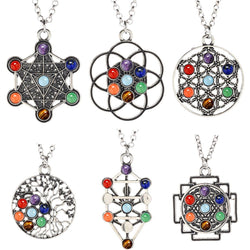 7 Chakra Cleansing Necklace Spiritual Warriors Shop
