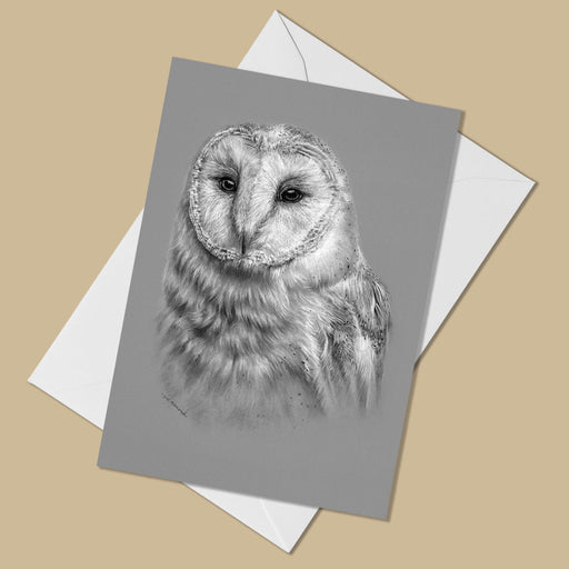 Barn Owl Greeting Card - The Thriving Wild