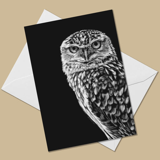 Burrowing Owl Greeting Card - The Thriving Wild