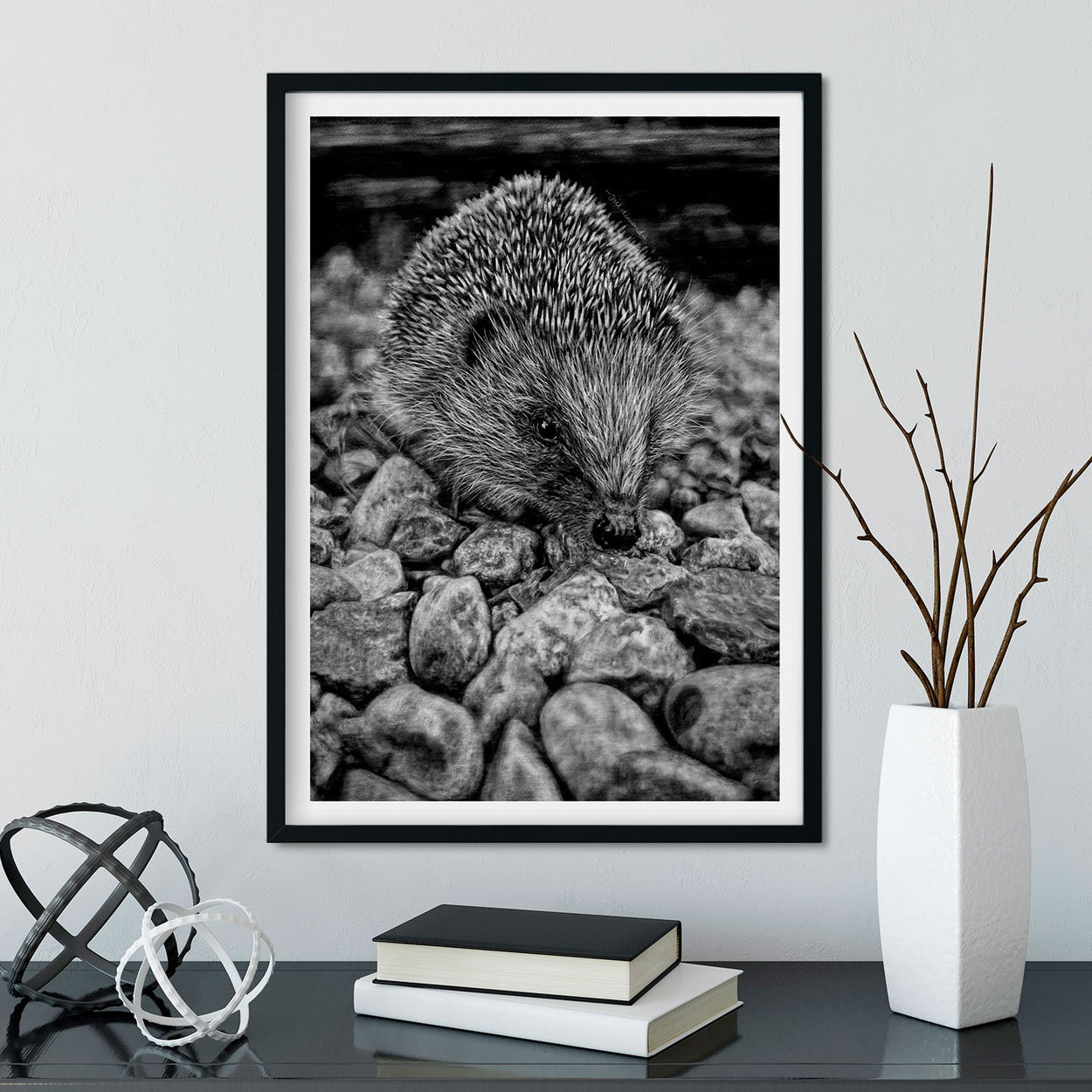 Hedgehog Wall Art - The Thriving Wild