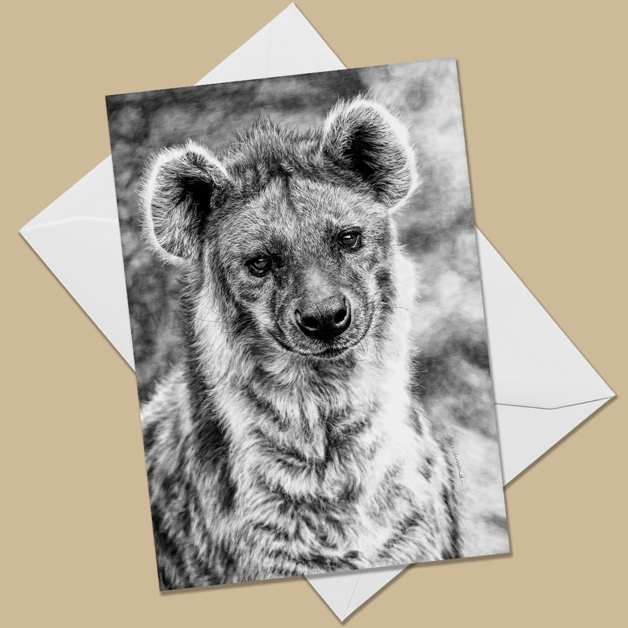Hyena Greeting Card - The Thriving Wild