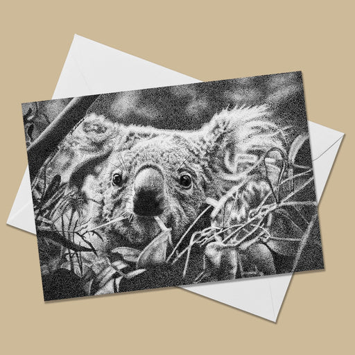 Koala Greeting Card - The Thriving Wild