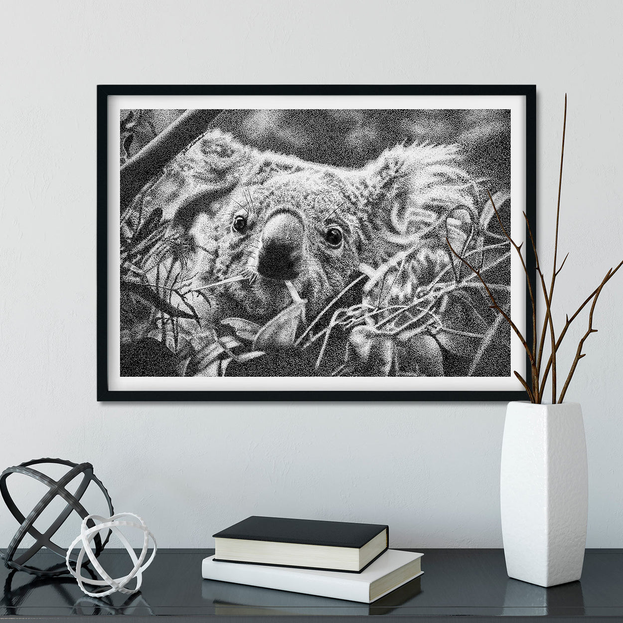 Koala Prints Framed - The Thriving Wild