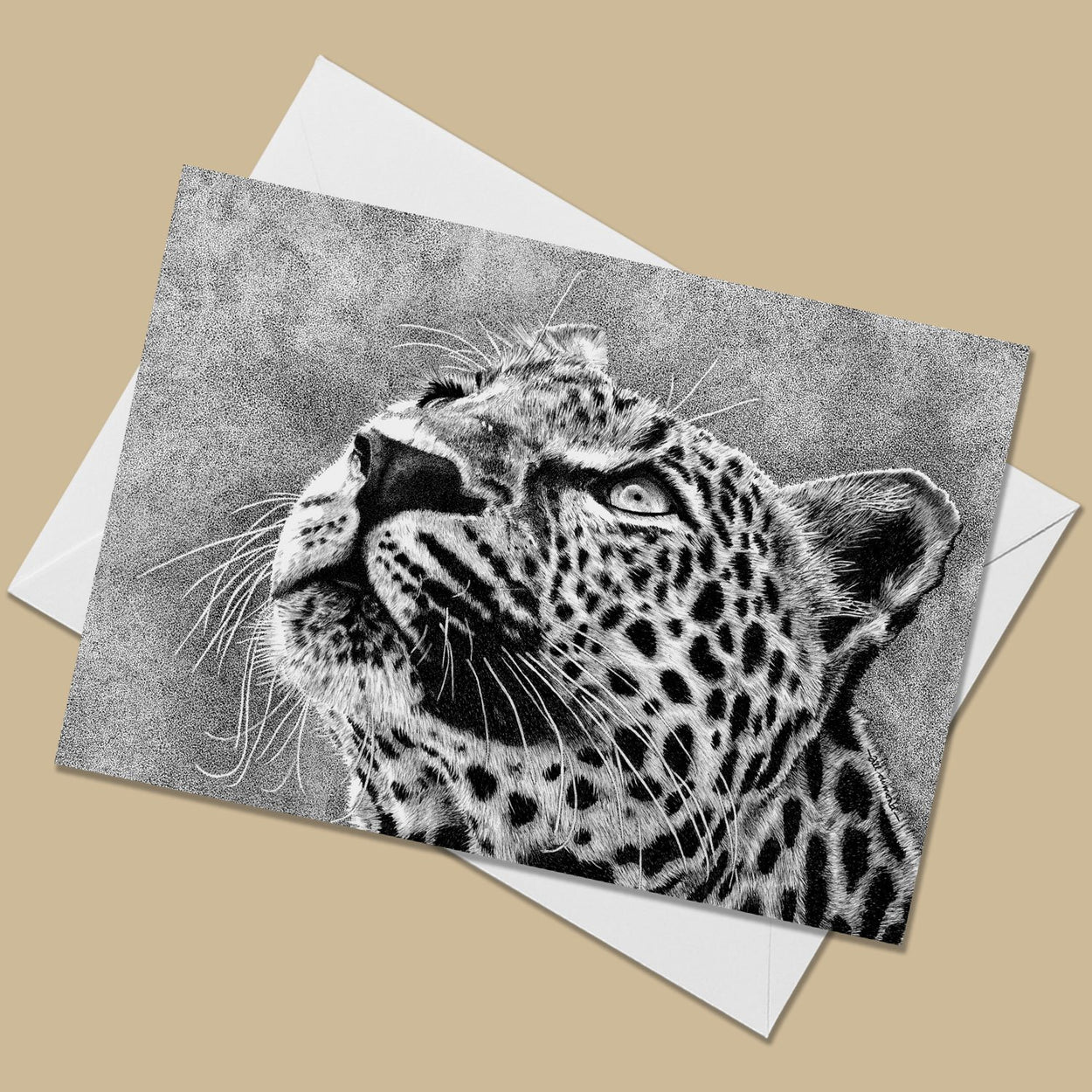 Leopard Greeting Card - The Thriving Wild