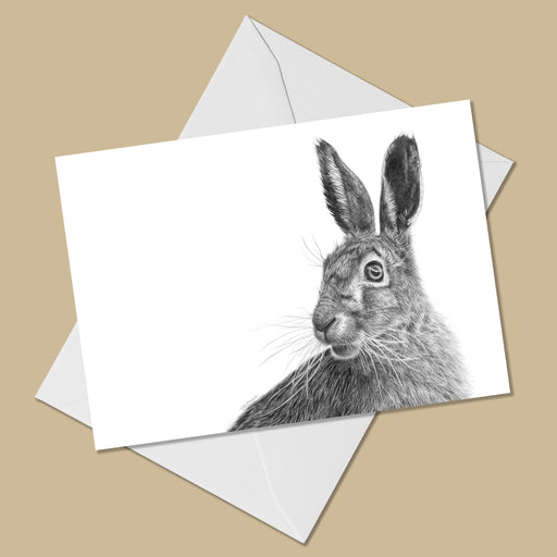 March Hare Greeting Card - The Thriving Wild