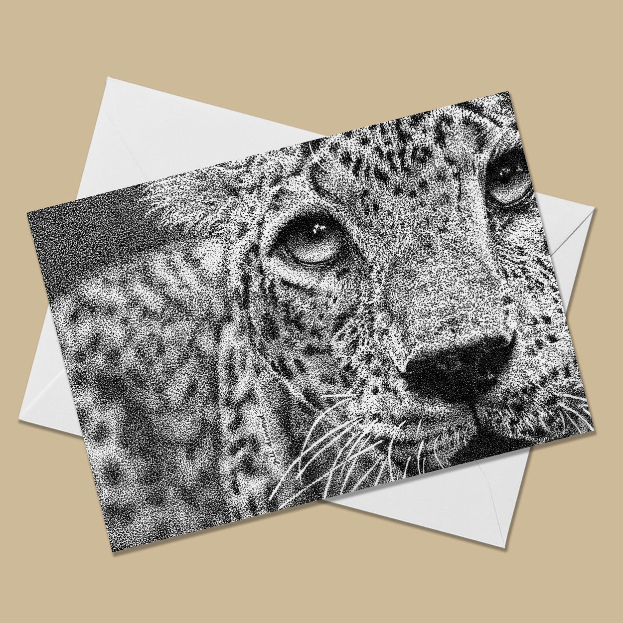 Spots the Leopard Greeting Card - The Thriving Wild