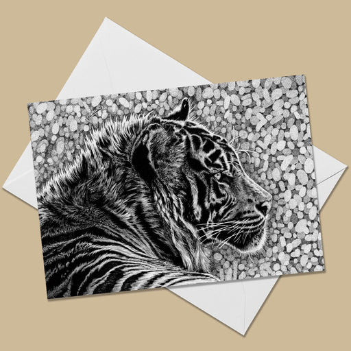 Tiger Greeting Card - The Thriving Wild