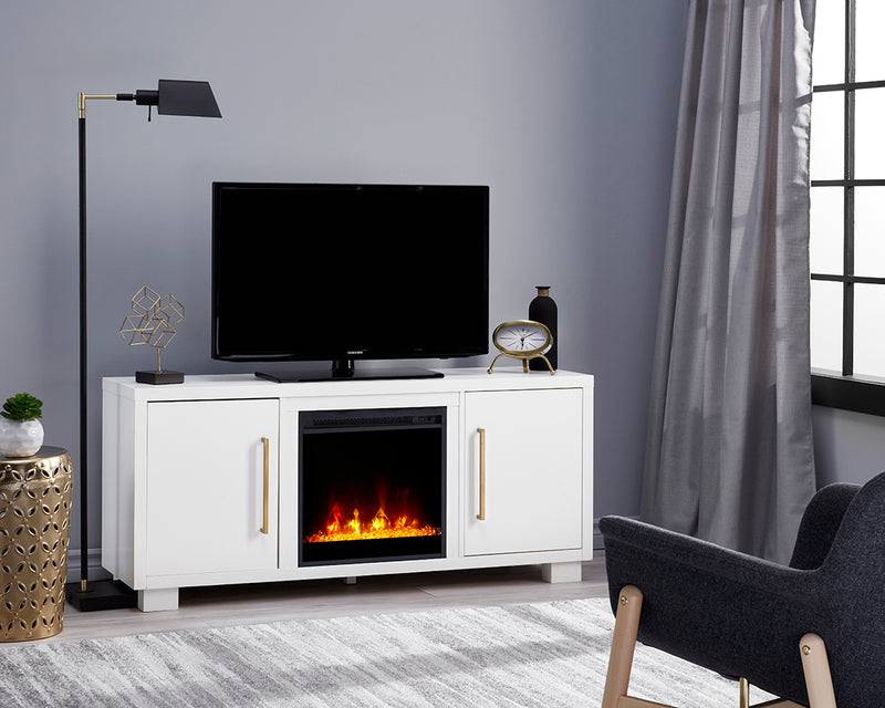 Shelby TV Stand - White