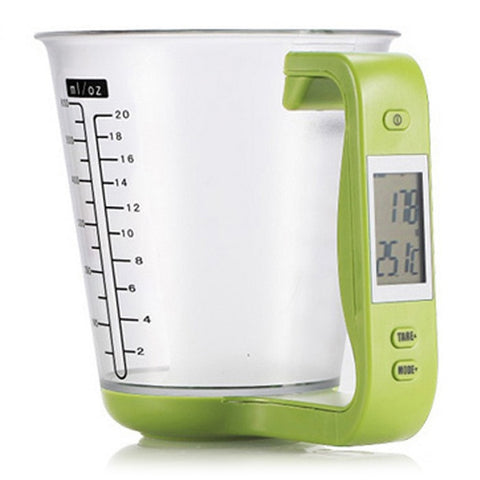 Detachable Measuring Cup Kitchen - Scales Digital