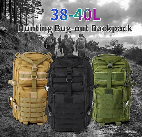 Outdoor Backpack, Sports Bag For Travel Hunting