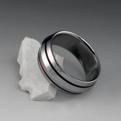 Red Titanium Ring