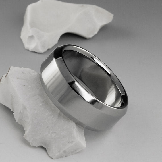 Handmade Titanium Wedding Band