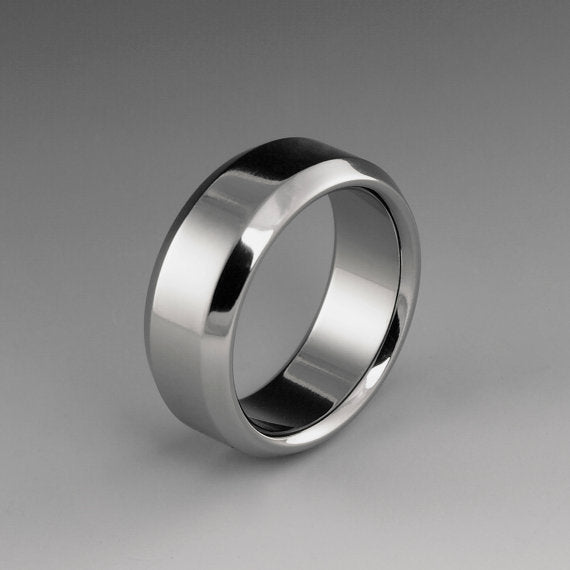 Unique Titanium Wedding Ring