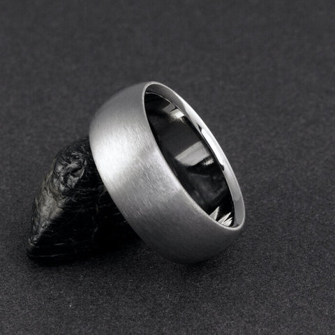 Titanium Ring - Domed Profile