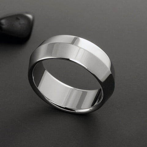 Titanium Ring - Peaked Profile