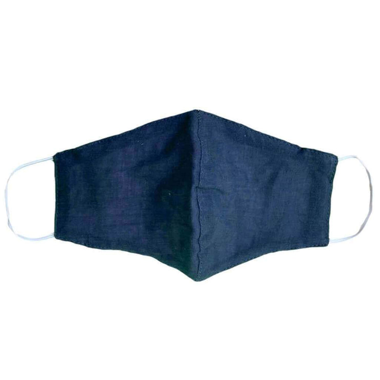 Children's Cotton Wide Face Mask With Filter Slip - Wanderer's Outpost
