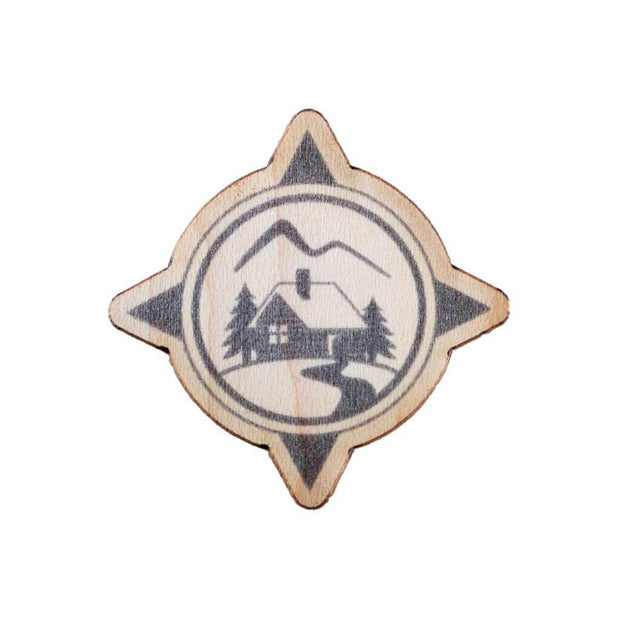Wood Sticker - Wanderer's Outpost