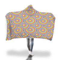 Swirl Hooded Blanket-Hooded Blankz
