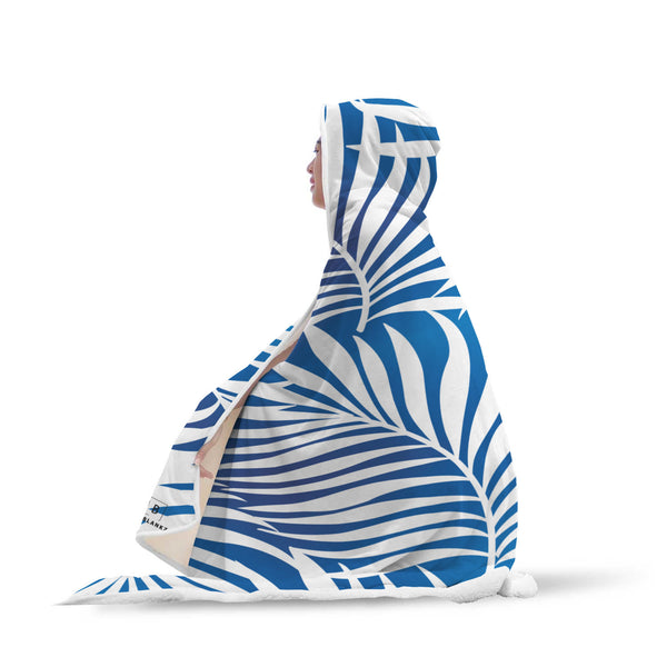 Blue Mood Hooded Blanket-Hooded Blankz