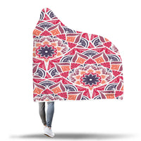 Mandala Sunset Hooded Blanket-Hooded Blankz