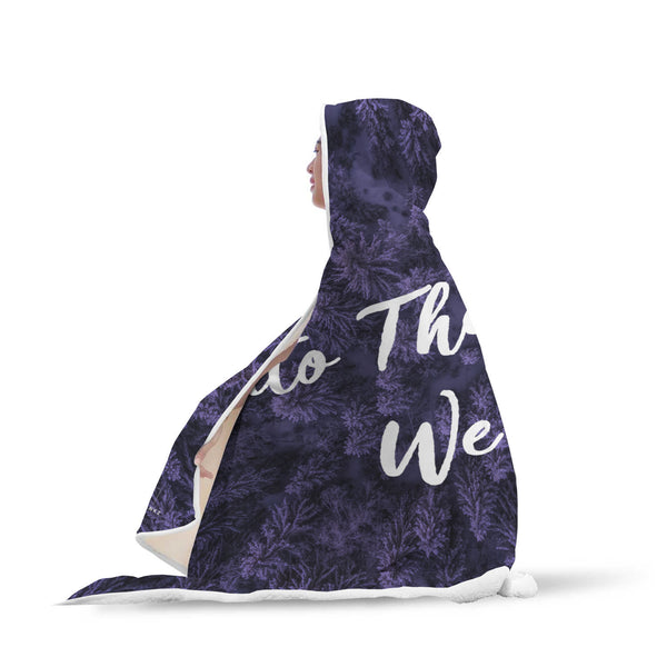 Into The Woods We Go Hooded Blanket-Hooded Blankz