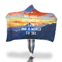 We have nothing to lose Hooded Blanket-Hooded Blankz