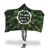Think Outside Hooded Blanket-Hooded Blankz