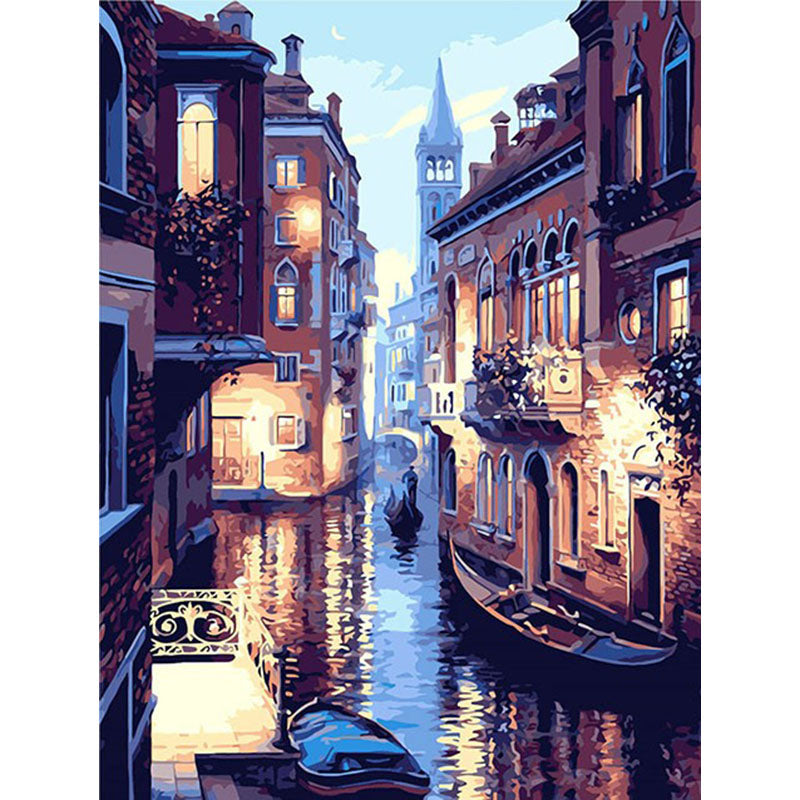 Night Of Venice Landscape