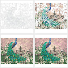 Load image into Gallery viewer, Peacock DIY Painting By Numbers