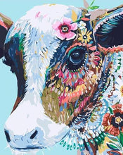 Load image into Gallery viewer, Colourful Cow