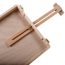 Load image into Gallery viewer, Wooden Easel & Storage Case