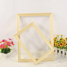Load image into Gallery viewer, Wooden DIY Frame 40cm x 50cm