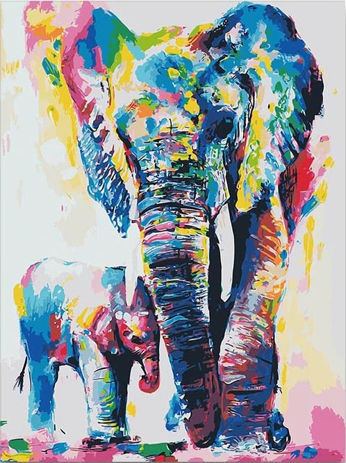 Abstract Elephants