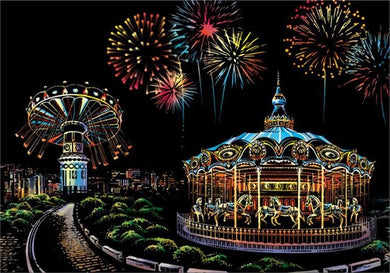 Scratch Art - Amusement Park
