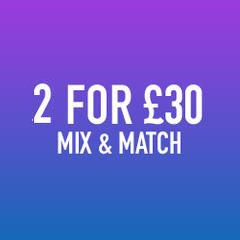 ANY 2 FOR £30