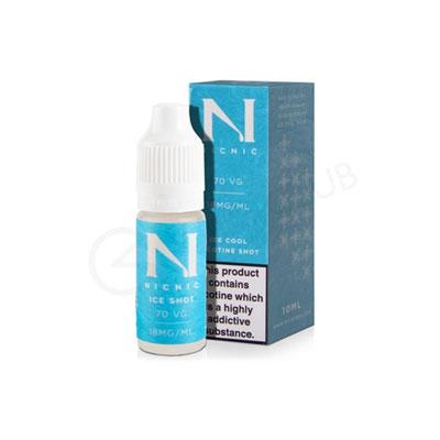 10 x Ice Cool Nicotine Shots 10ml £12.00 (Multi-Buy Deal - Save £5.00)