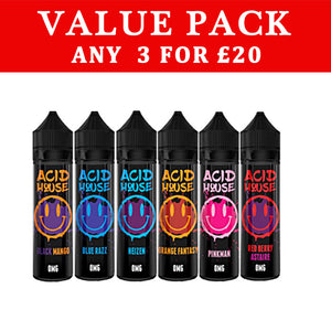 Acid house 50ml- ANY 3 FOR £20