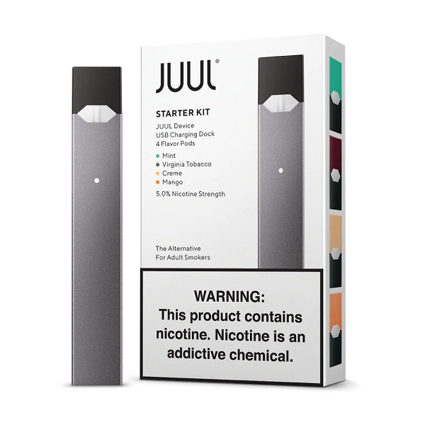 JUUL STARTER KIT WITH 4 PREFILLED PODS