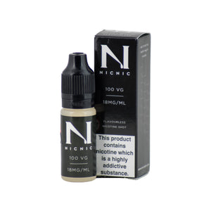 1 x Nicotine Shot 10ml £1.50 (Add 1 Shot in 50ml Shortfill E-Juice = 3mg)
