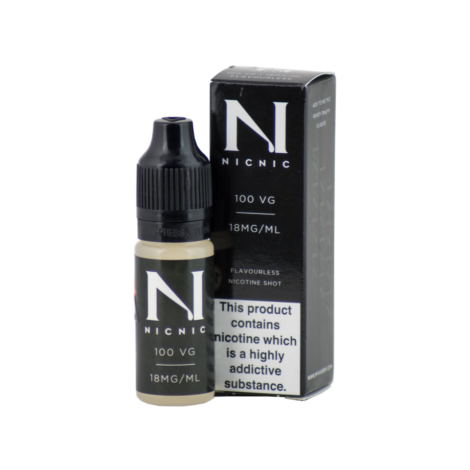 2 x Nicotine Shots 10ml £2.79 (Add 2 Shots in 100/120ml Shortfill E-Juice = 6mg)