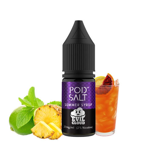 POD SALT FUSIONS - ANY 3 FOR £12
