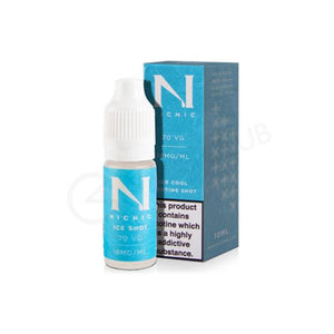 1 x Ice Cool Nicotine Shot 10ml £1.50 (Add 1 Shot in 50ml Shortfill E-juice = 3mg)