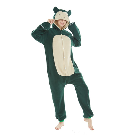 Snorlax Jumpsuit for Adults