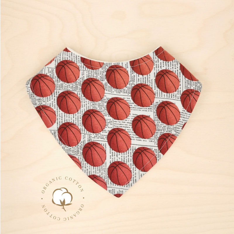 Organic Basketball Dribble Bib