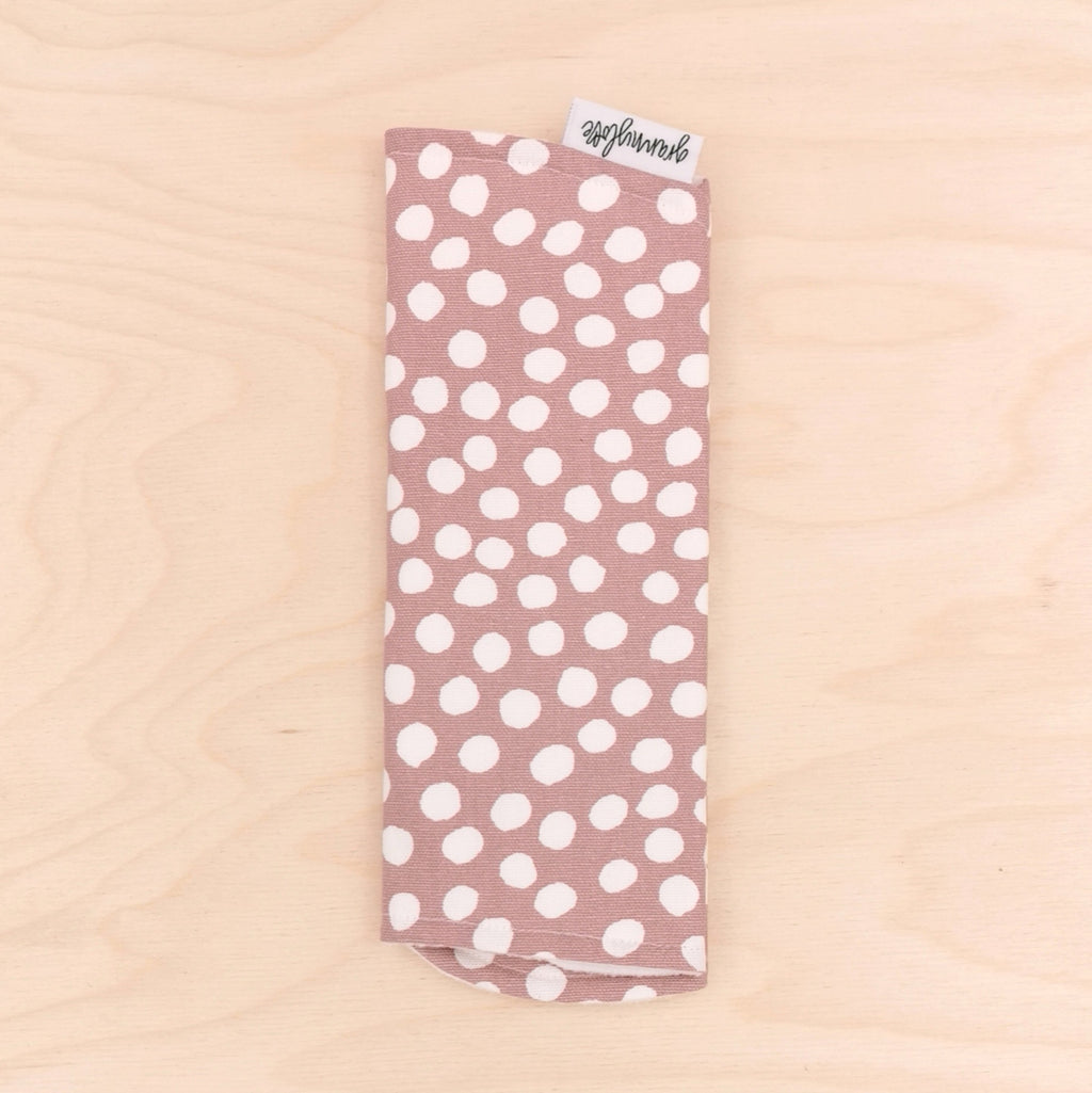 Bloom Polka Dot Burp Cloth