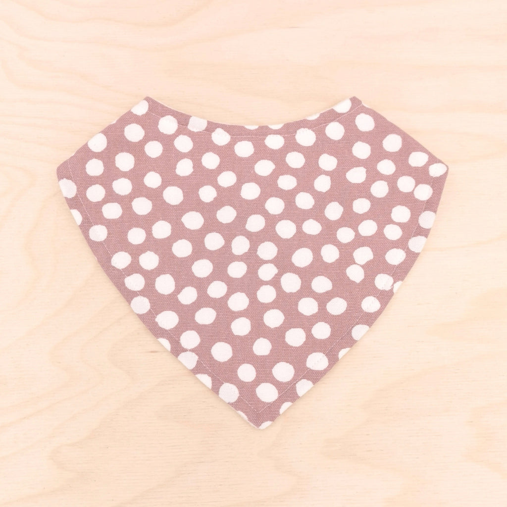 Bloom Polka Dot Dribble Bib