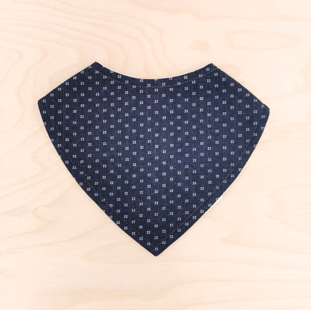 Denim Doby Dribble Bib