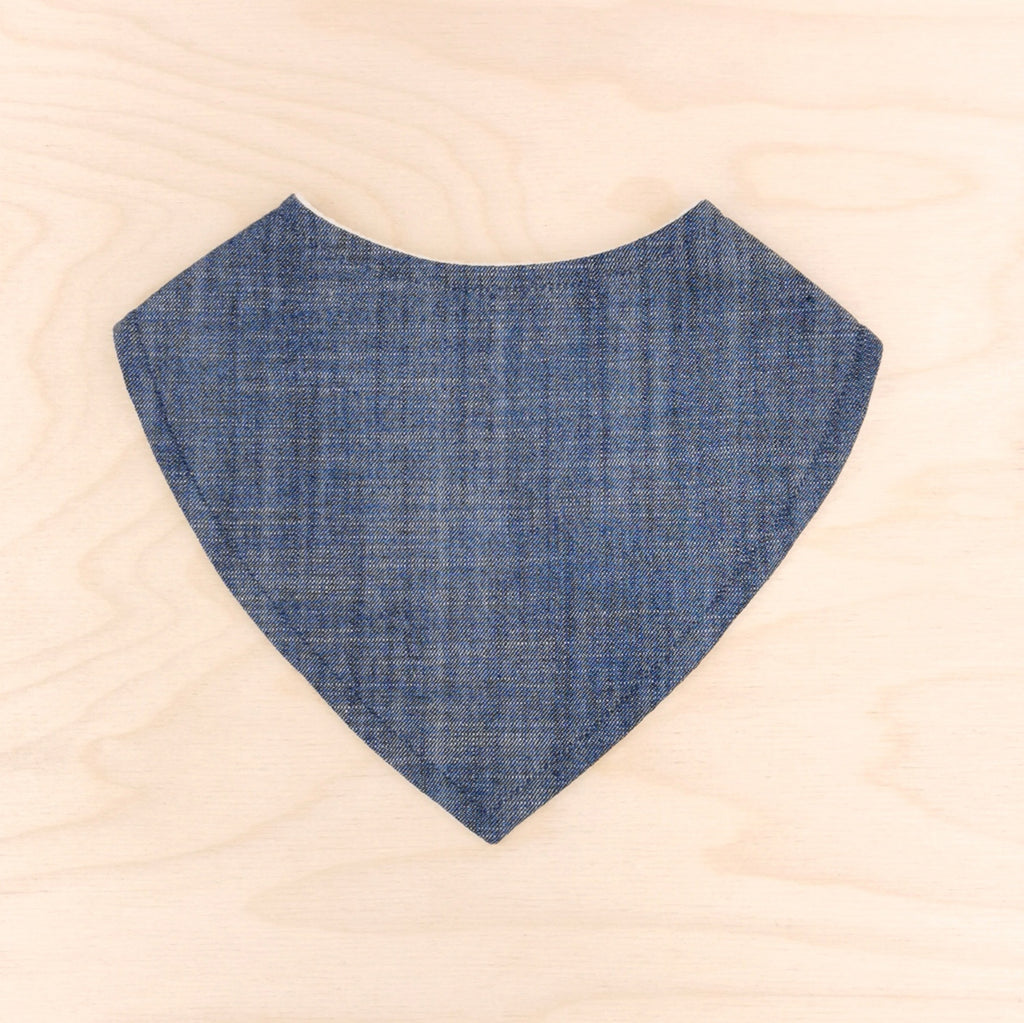 Denim Dribble Bib